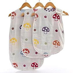 NUOLUX Baby Sleep Sack 100% Cotton Sleeping Bag Baby Wearabl