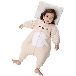 PEACE MONKEY Baby Sleep Sack Cotton Wearable Blanket Toddler