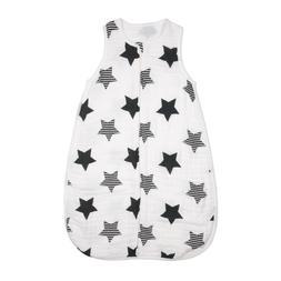 Baby Sleeping Bag Soft Cotton Muslin Sleep Sack Swaddle Wear