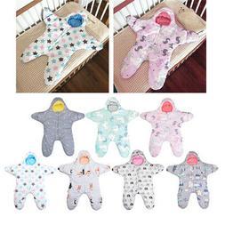 Baby Sleeping Bag Winter Newborn Sleep Warm Blanket Swaddle
