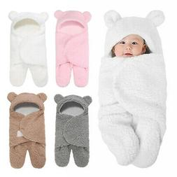 Baby Sleeping Bag Wrap Blanket Newborn Infant Boy Girl Swadd