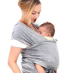 0c157333035 Innoo Tech Baby Sling Carrier Natural Cotton Nursing Baby Wr