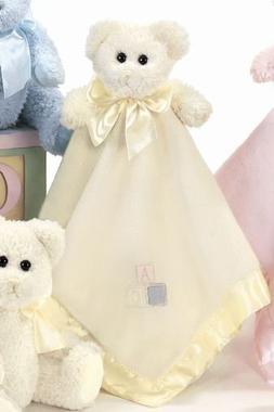 Bearington Baby Bear Hugs Snuggler, Yellow Teddy Bear Plush