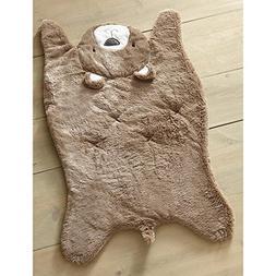 Levtex Baby Soft Brown Faux Fur Bear Throw Blanket