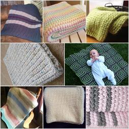 BABY SOFT CROCHET/KNIT BLANKET & HAT SETS  MADE TO ORDER