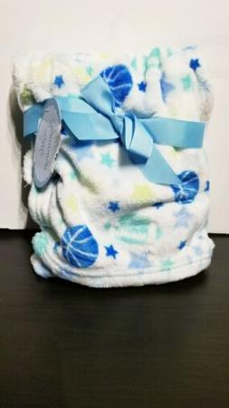 "Little Beginnings Baby Soft Fleece Blanket sports 30"" x 40"""