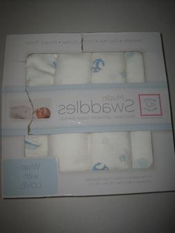 SwaddleDesigns Baby Stroller Blanket, Swaddle Blanket, Crib