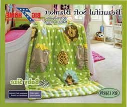 New Baby Size Super Soft Blanket Hight Quality 100% Polyeste