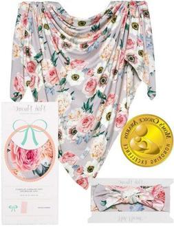 Posh Peanut Baby Swaddle Blanket - Large Premium Knit Baby S
