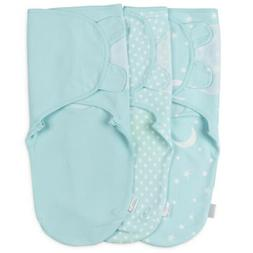 Baby Swaddle Blanket Wrap Set - 3 Pack Soft Cotton**