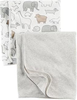 Carter's Baby 2-Pack Swaddle Blankets One Size