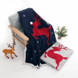 Baby Swaddle Wrap Blanket Knitted Newborn Blanket Stroller B