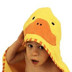 NFT Baby Swaddle Wrap-Ultra Soft Animal Hooded Bathrobe Flee