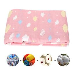 Multi-function Baby Newborn Soft Blanket Pram Crib Swaddle W