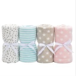 Baby Swaddle Wrap Soft Newborn Blanket Swaddle George Coral