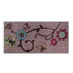 CoCaLo Baby Canvas Baby Girl Flower Wall Decor Pink