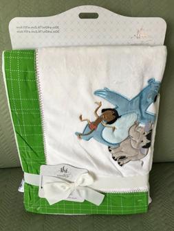 "Disney Store The Jungle Book Plush Baby Blanket / 30"" x 40"