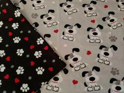 "Handmade Baby/toddler Blanket~ Double FLANNEL~35""x41""~ Puppy"
