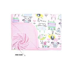 CuteOn Baby/Toddler Girls/Boys Blanket - 17 Bears / Birds