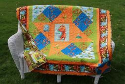 Handmade Baby, Toddler Quilt, Nursery Bedding.