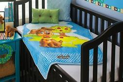 BabyMink Baby/Toddler Ultra Soft Plush Fleece Blanket Puppy