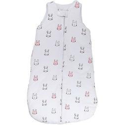 Baby Wearable Blanket Sleep Bag Winter Weight PINK Bunnies F