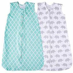 Baby Wearable Blankets Sleeping Sack, 2 Pack