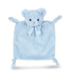 Bearington Baby Wee Huggie Bear, Small Blue Teddy Bear Stuff