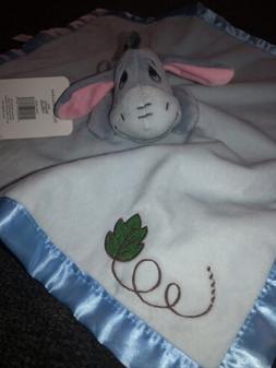 Disney Baby Winnie The Pooh Eeyore Lovey Security Blanket Bl