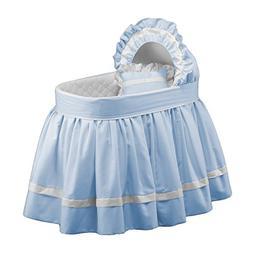 BabyDoll Sweet Petite Bassinet Bedding Set, Blue