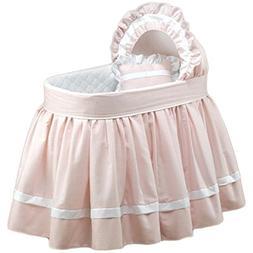 BabyDoll Sweet Petite Bassinet Bedding Set, Pink