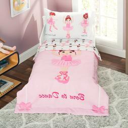 Everyday Kids Ballerina Toddler Bedding Set