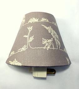 Bambi Deer Plug In Night Light / Nursery Decor / Baby Shower