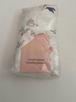 Loulou Lollipop Bamboo Muslin Blanket and Swaddle- Baby Girl