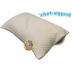 Bamboo Pillow Cover Zippered Protector Breathable Cool Eco-F