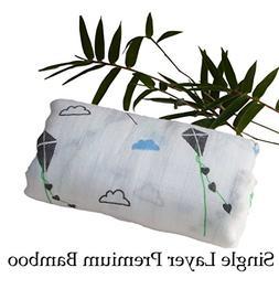 Bamboo Swaddle Blanket - Single Layer - 100% Organic Bamboo