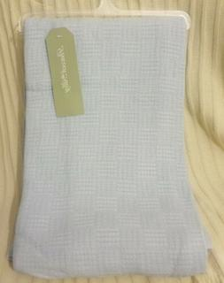 Peacock Alley Bamboo Throw Blanket Baby Blue