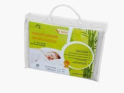 Healthy baby Ideas Premium Bamboo Viscose Crib Mattress Pad