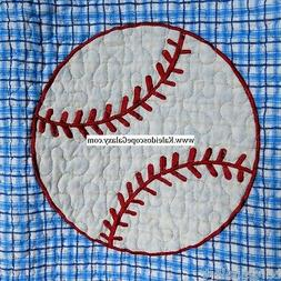 SPORTS 7PC TWIN QUILT BASEBALL * BASKETBALL * FOOTBALL  ~ TH