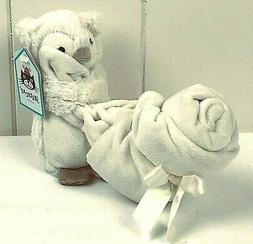 Jellycat Bashful Owl Soother Security Blanket