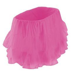 """bkb Bassinet Petticoat, Hot Pink, 13"""" x 29"""""""