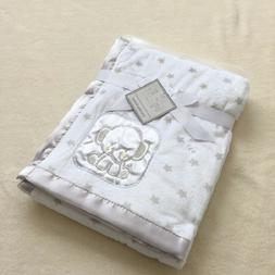 Bassinet Soft Fleece Newborn Baby Blanket Animal Design Bedd
