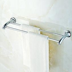 Bathroom Double Towel Bar Wall