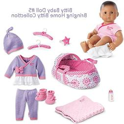 American Girl BB5 Bitty Baby Doll #5 Brown Eyes, Dark Brown