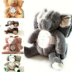 """SILVER ONE KIDS BEAR AND BLANKET 2 PIECE GIFT SET WITH 40""""x"""