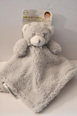 Blankets and Beyond Bear Plush Sherpa Security Blanket Lovey