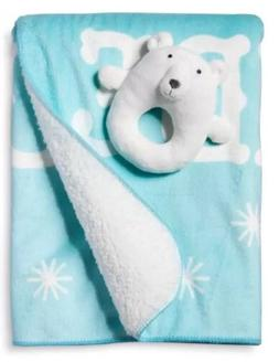 Circo Bear Valboa Ring Rattle and Blanket Set Limited Editio