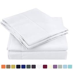 HOMEIDEAS Bed Sheets Set Soft Brushed Microfiber 1800 Beddin