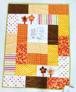 Bedding Quilt Cover Kids Baby Girl Crib Blanket Patchwork 28