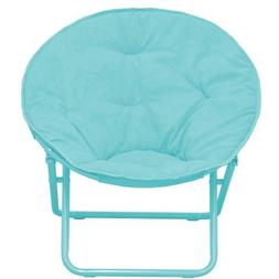 American Kids Bedding WK656330 Solid Faux-Fur Saucer Chair,